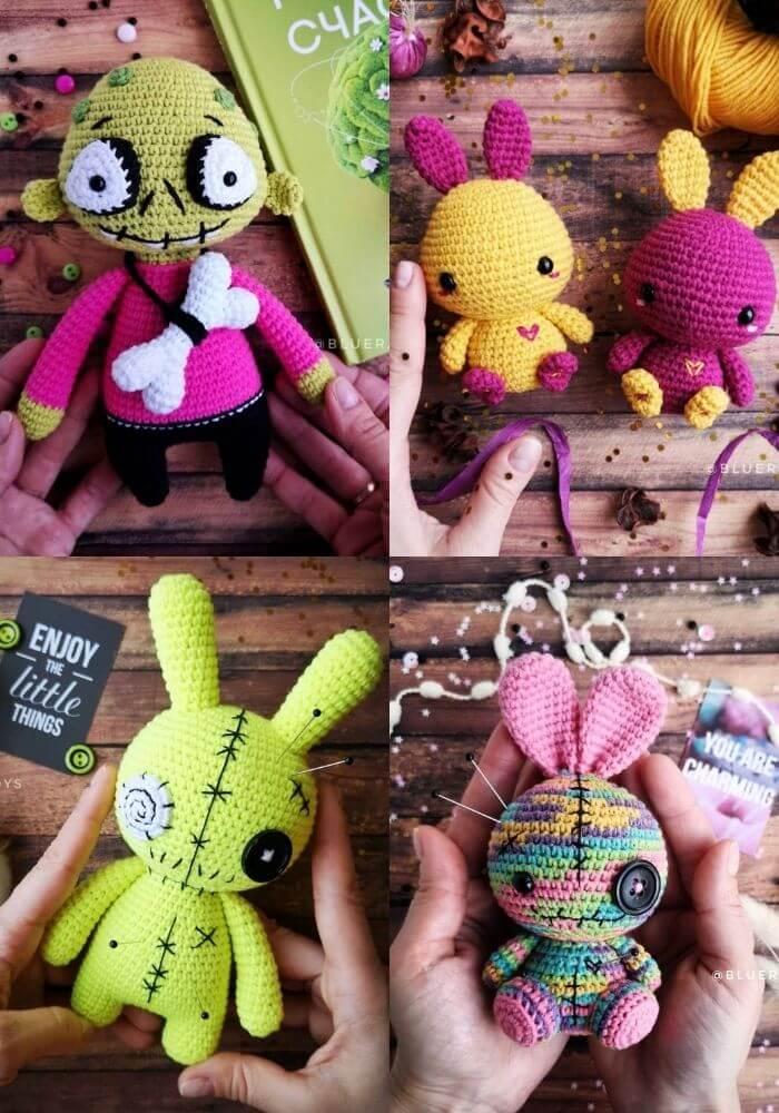 bluerabbittoys by irina crochet artist