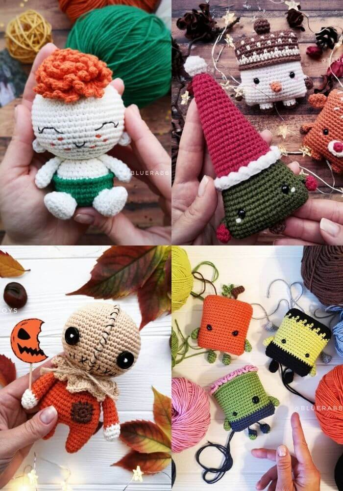 bluerabbittoys by irina crochet pattern artist