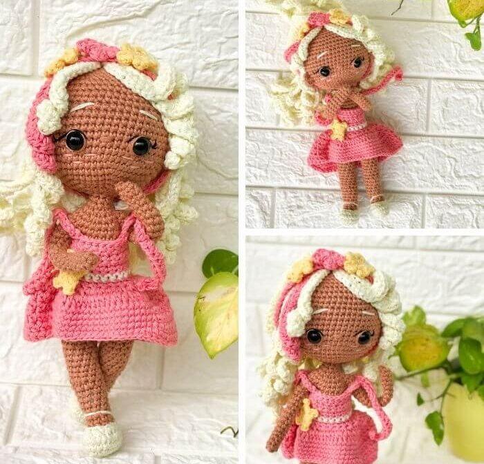 Virgo Zodiac Amigurumi Pattern –  Princess Doll Crochet Pattern Review
