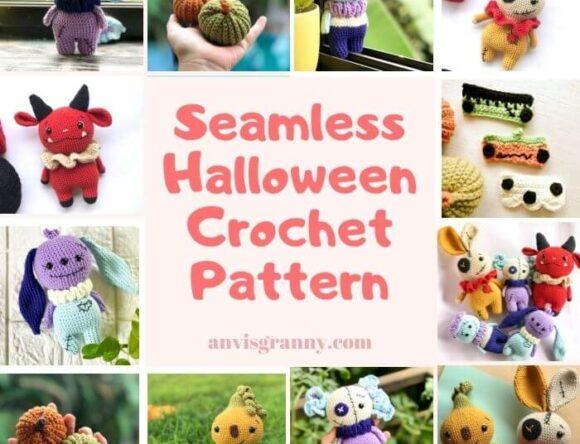 8 Spookiest and Cutest Seamless Halloween Amigurumi Patterns