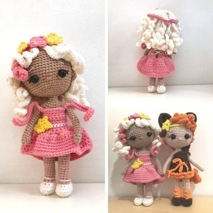 VIRGO zodiac amigurumi crochet pattern test