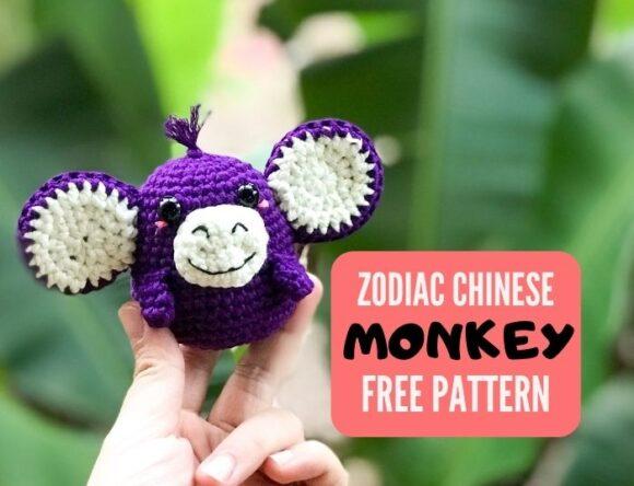 Zodiac Monkey Amigurumi Pattern free – Zodiac amigurumi CAL (Eps 09)