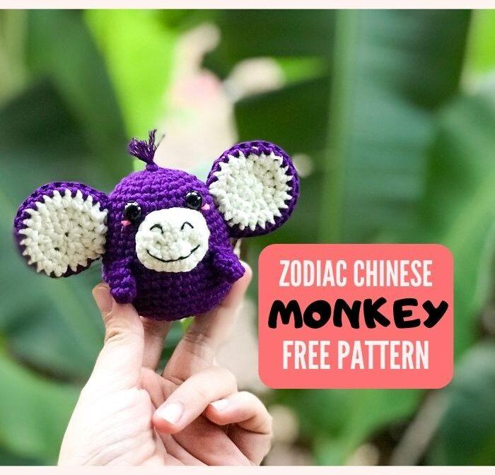 Zodiac Monkey Amigurumi Pattern free – Zodiac amigurumi collection