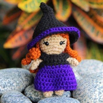 Halloween amigurumi pattern crochet