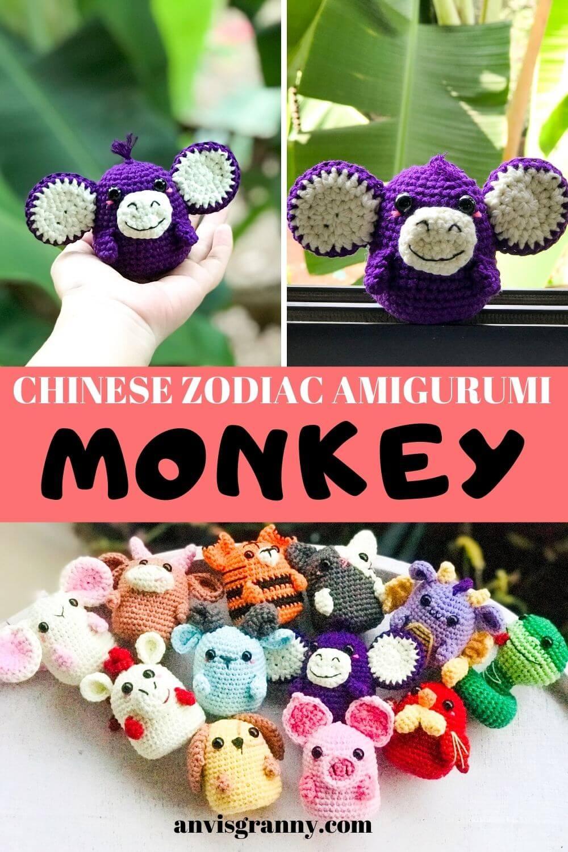How to create a friend monkey crochet tutorial
