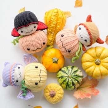 Halloween pdf pattern amigurumi crochet