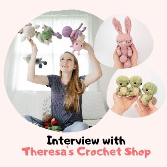 Amigurumi Designer Interview – Theresa's Crochet Shop