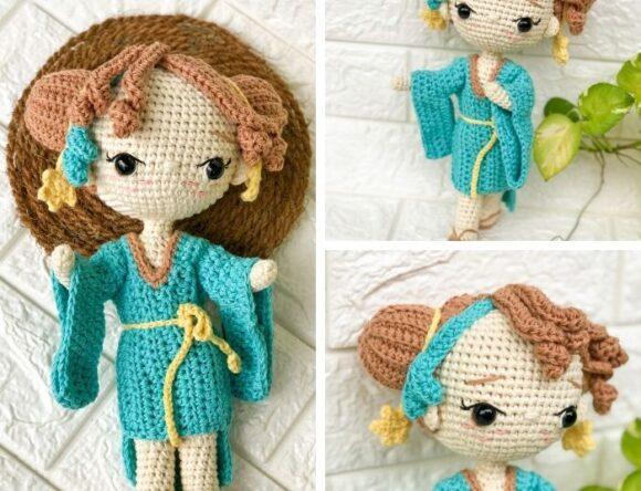 Libra Zodiac Doll pattern – Princess Doll Crochet Pattern Review