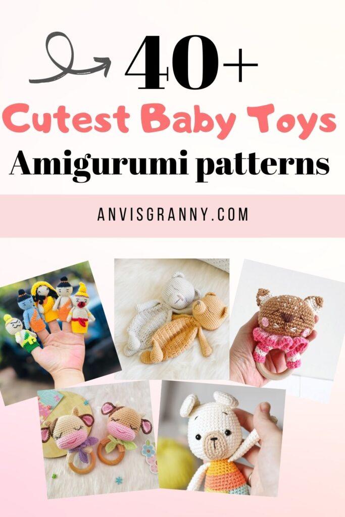 amigurumi baby love crochet pattern