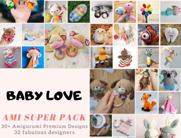 30+ Cutest Crochet Amigurumi Toys Patterns for Babies